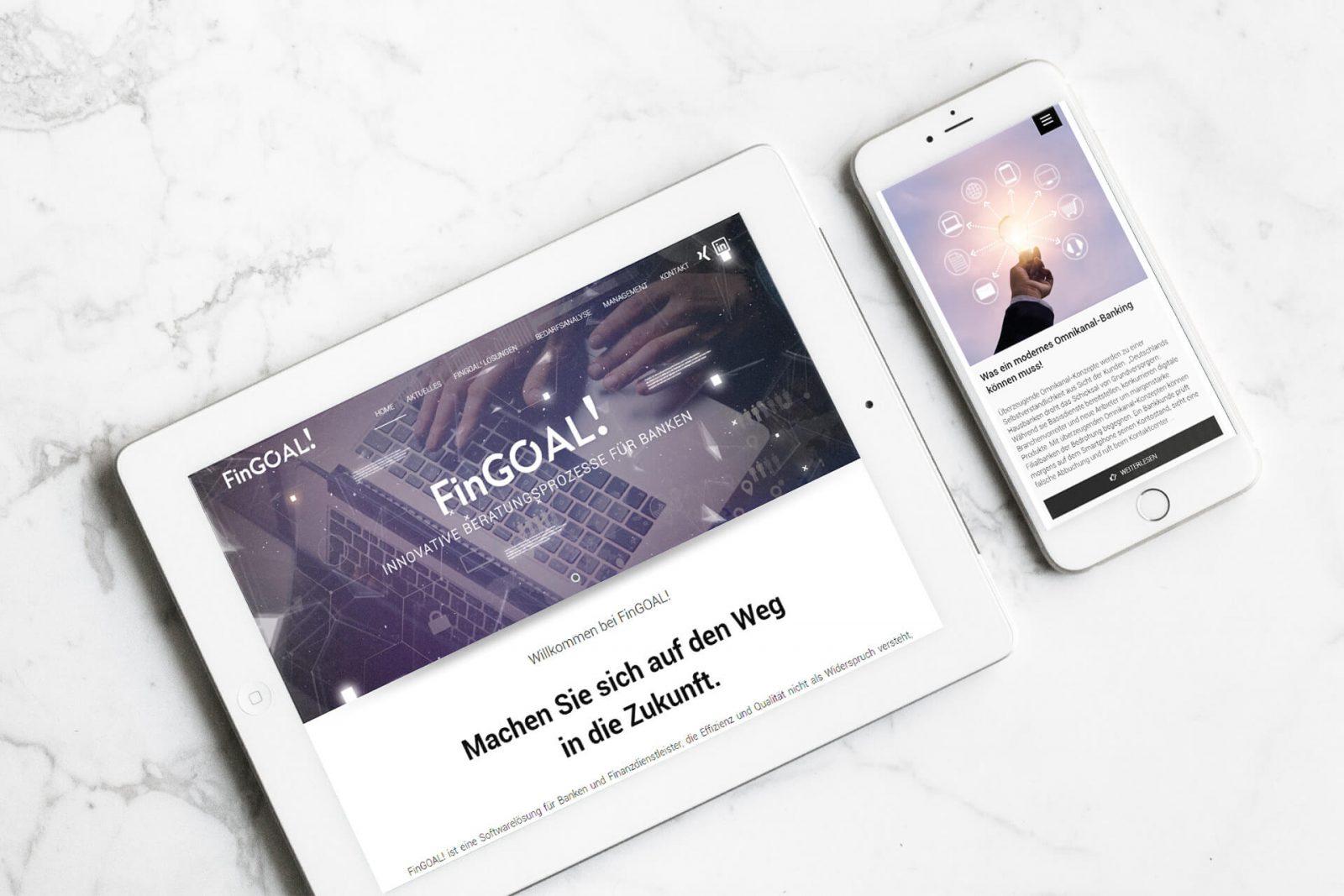 FinTech Webseite