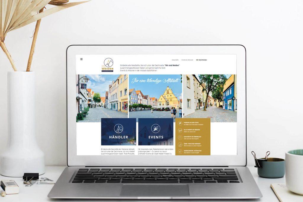 Portal für Weidens Einzelhändler