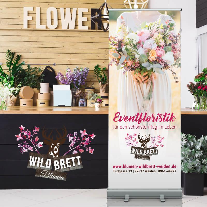 Floristik – Blumen Wildbrett