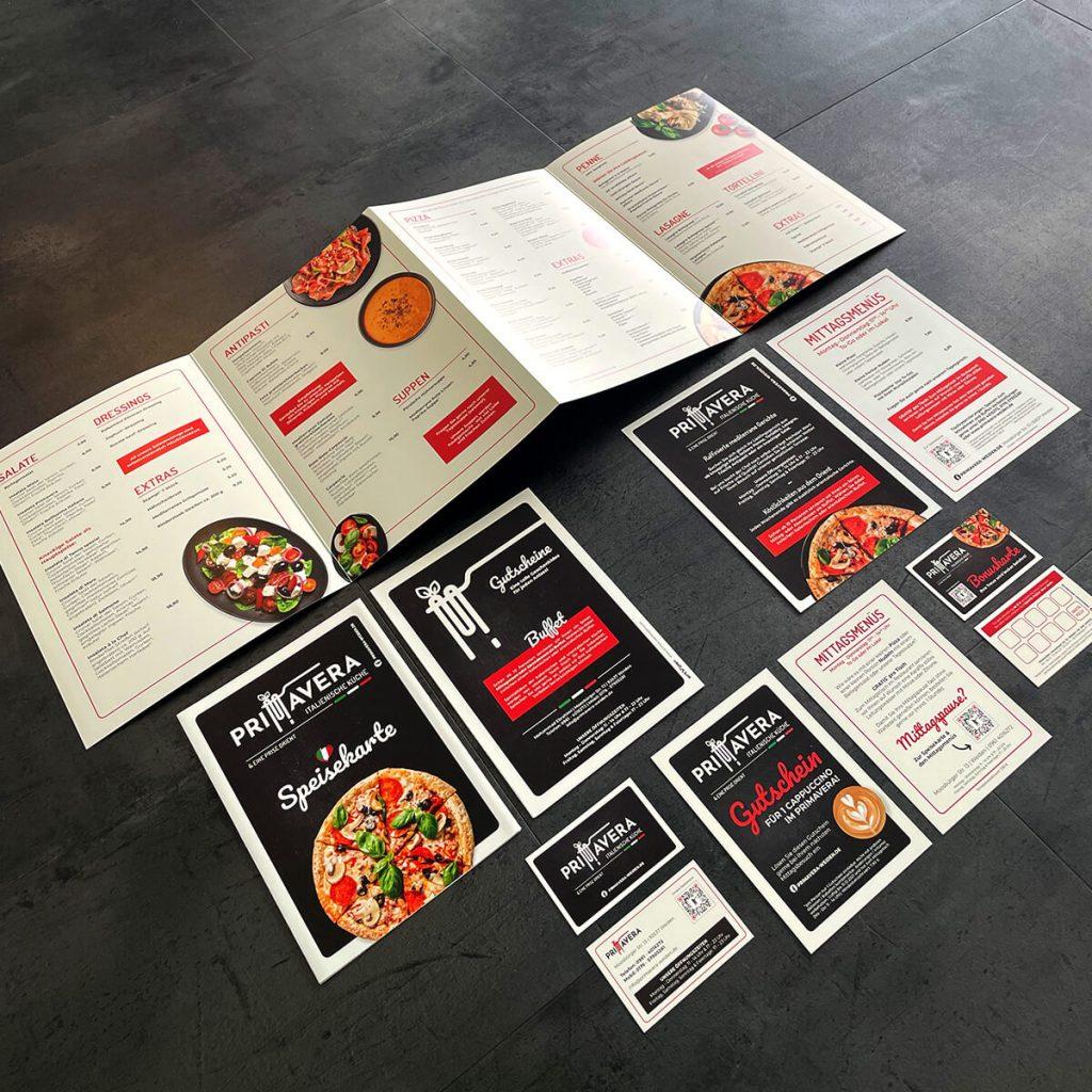 Neues Design Restaurant Primavera